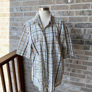WOOLRICH Scenic Shirt Plaid Short Sleeve L Vents